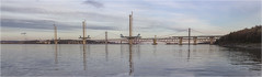 New Panorama Dec 2015 (Jistfoties) Tags: bridge panorama construction forth southqueensferry forthbridges civilengineering newforthcrossing queensferrycrossing