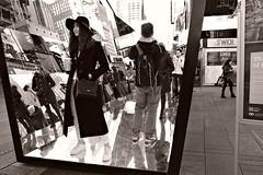 "Sightsee, in the Mirrors of ""The Beginning of the End"" (sjnnyny) Tags: timessquare mirrors playful streetart artinstallation nyc midtown tourists sightsee stevenj sjnnyny pentaxk3ii smcda1650mmf28edifsdm amusement cubanartistsfund endbyrachelvaldescamejo timessquareart the beginning thebeginningoftheendinvitespublicin fashionable broadway theatredistrict streetphotography"