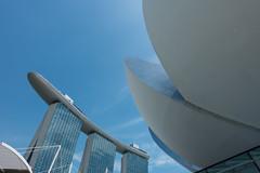 Marina Bay Sands - Art Science museum (tik_tok) Tags: architecture singapore asia artsciencemuseum marinabaysands museum