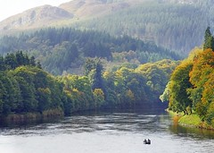The river Tay in Dunkeld (eric robb niven) Tags: ericrobbniven scotland perthshire dunkeld river tay
