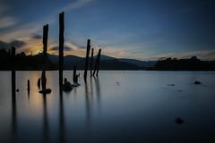 Sunset sentinels (ReevesWild) Tags: keswick derwent derwentwater longexposure exposure leefilters bigstopper lakedistrict lakedistrictnationalpark cumbria