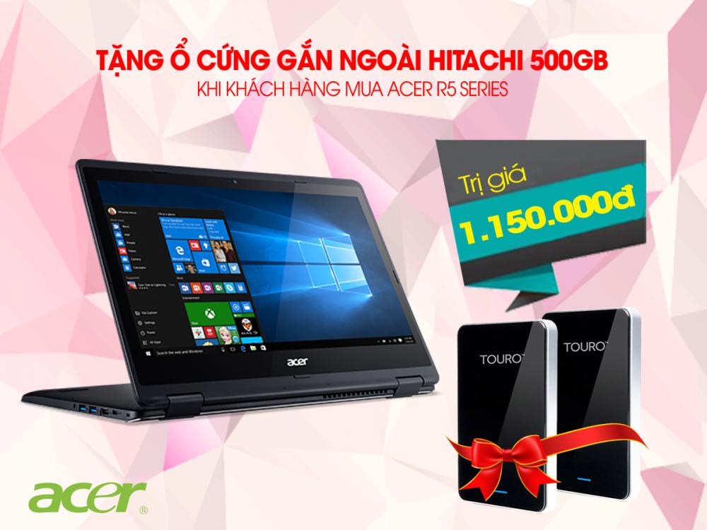 Mua laptop Acer R5 - Nhận quà cực đỉnh