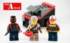 A-Team in LEGO (felt_tip_felon) Tags: ateam lego afol ba baracus dmc icon eightieskid tvshow hannibal murdoch minifigure dimensions howlingmadmurdoch mrt