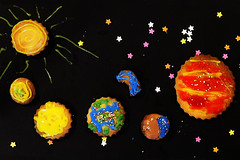 Cookies 2 (Kevin Doncaster) Tags: cookies planets solarsystem baked