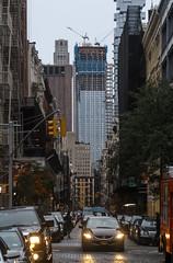 IMG_9751 (kz1000ps) Tags: newyorkcity nyc manhattan architecture urbanism cityscape soho greene street worldtradecenter 175greenwich towerthree tower3 office skyscraper construction crane