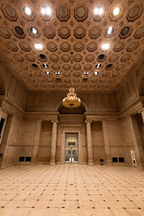 SESKER-5014 (NinjaWeNinja) Tags: canon 6d 1635 f4 sf san francisco california city hall building buildings structure architecture elegant looking up wide angle clock clocks massive immersive indoor asian art museum