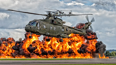 Royal Navy Agusta Westland Merlin HC3 ZJ118 (benji1867) Tags: royal navy agusta westland merlin hc3 zj118 rn fire chopper helo helicopter marine lynx wildcat leonardo avgeek avporn aviation flight fly military canon vl yeovilton rnas naval air station hms seahawk airshow day