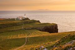 Neist Point lighthouse (Islandhopper74) Tags: raasay skye scotland peterowbottom landscape neistpoint elgol scottishisles uk dramatic