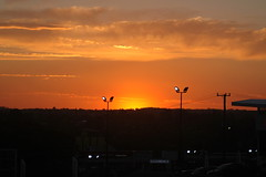 The Sunsets Warm Glow (shelley.sparrow) Tags: thesunsetswarmglow shelleysparrow brisbane queensland australia tranquil bright beautifulsunset nikon spring