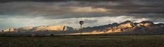 Flinders ranges South Australia (trubble_07) Tags: sunset flinders ranges clouds sunshine storm mountains windmill