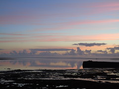 Sunrise in Finstown (stuartcroy) Tags: orkney island sunrise sunlight scenery scotland sky sea sony still sand stone beautiful blue bay bird beach reflection ripples