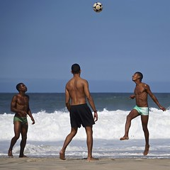 Leme beach (alobos Life) Tags: footvolley sport futbol ball sand arena boys guys garotos cute nice beautiful sunga speedo water beach playa funny enjoying rio de janeiro brasil brazil have fun outdoors candid brazilian brasileo futevolei 2016 leme