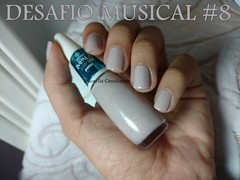 Desafio Musical 8 - Flauta Peruana - Impala, Patins (Mica Cavalcante) Tags: nails unhas esmalte nail lacquer polish bege nude impala patins mãos hands