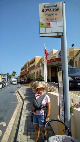 On the way to Valletta