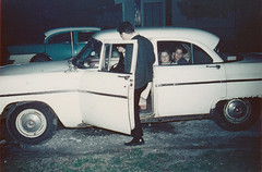 The Ol' '55 Ford 1960's (Vintage car nut) Tags: old vintage antique 1960s 1955 ford sedan cars 1956 buick