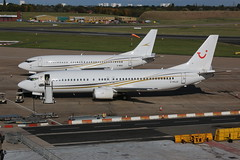 Cello Aviation Boeing 737s (Retro Jets) Tags: bhx cello b733 b734