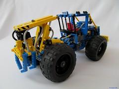 01e (nikolyakov) Tags: lego legotechnic eurobricks pneumatic logging skidder moc tc10
