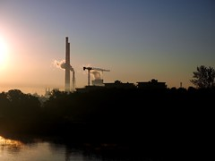 P8260541_A (PawelPach) Tags: krokw cracow krakow urban city landscape poland polska smog fog chimneys factory smoke smokestack stack urbanlandscape