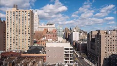 Clouds Time Lapse Medium with music (Michael.Lee.Pics.NYC) Tags: newyork timelapse video cityscape clouds motion thirdavenue aerial rooftops 2016 olympus em5 markii mkii 1240mmpro28