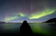 Beholder. (Rolland - Tomas) Tags: northernlights auroraborealis night landscape seascape harstad norge