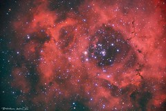 The Rosette Nebula (Bill-Metallinos) Tags: astronomy astrocorfu astrophotography astrolandscape astrophoto nebula nebulae nebulea stars star stargazer dust cluster nightscape nightsky night interstellar space nasa metallinos kerkira corfu greece rosette ngc 2244 ngc2244