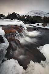 Cauldron Falls, Rannoch Moor, Scotland (MelvinNicholsonPhotography) Tags: cauldronfalls scotland waterfall snow ice water rannochmoor glencoe gitzo manfrotto mindshift leefilters 2melvin nicholson photography