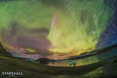 tye-sh2016c-co-jcc-290816-fletanes-060 (StarryEarth) Tags: aurora playa beach boreal borealis storm tormenta geomagnetic geomagntica sol sun greenland groenlandia qaleraliq startrails estrellas trazos