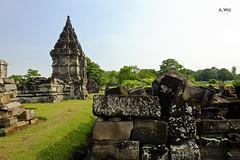 Prambanan ruins (A. Wee) Tags: yogyakarta prambanan indonesia  unesco world heritage