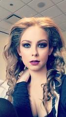 (rebekkaweigand) Tags: purple curl curly blondie bighair hair toronto banquet strong makeup model girl