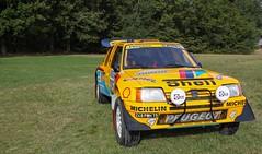 Peugeot 205 T16 Grand Raid (Pichot Thomas) Tags: les grandes heures automobiles 2016 canon 500d 55250 ancienne auto rassemblement sportive sport cars course circuit classic peugeot 205 t16 grand raid