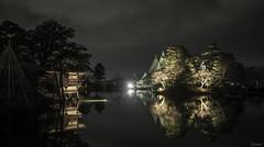 Reflection 3 (jgxen) Tags: japan reflection lake garden illumination night