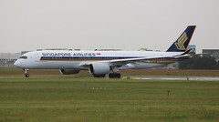 Singapore Airlines Airbus A350-900 (AMSfreak17) Tags: amsfreak17 danny de soet canon 70d ams eham amsterdam luchthaven schiphol airport vliegtuigen vliegtuig aircraft airplane jet jetphotos planespotting luchtvaart vertrek aankomst departure arrival spotter planes world of airplanes nederland the netherlands holland europe dutch taxibaan taxiway yankee rondom noord around north singapore airlines airbus a350900 9vsmc