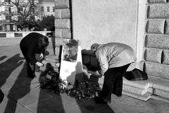 Humble Last Respects to Fidel in Czechia 4 (Kojotisko) Tags: panasoniclumixdmcft2 brno bw czechrepublic fidelcastro czechia streetphoto