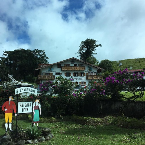 Swiss village built by an expat #costarica