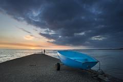 Mousterlin Sunset (Trus29) Tags: quimper mousterlin fouesnant benodet bretagne breizh bzh brittany sunset sun raise clouds sea seascape light blending chromie nikon d700 20mm 28 f28