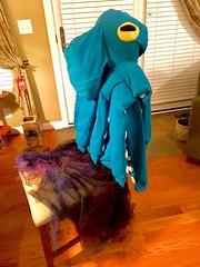 Octopus Halloween costume (tenhourclock) Tags: sealife aquaticlife skirt hoodie octopus handmade halloweencostume halloween costume