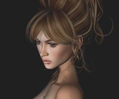 Bianca Portrait (BiancaPetrov) Tags: avatar raynemorgan secondlife female genesishead girl portrait divahair