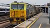 DR 98975 (JOHN BRACE) Tags: network rail railtrack multi purpose vehicle db 98975 with 98925 seen rhtt head treatment train passing tonbridge branded blue yellow livery circuit 1416