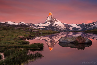 matterhorn in the morning