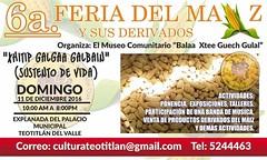 Feria del Maz @ Teotitln del Valle 12.2016 (planeta) Tags: corn maiz maize llub zapotec teotitlan oaxaca mexico event december 2016 culture food comida