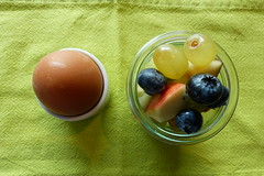 Breakfast. (remember moments) Tags: dietmarvollmer breakfast frhstck egg fruit green round circle pair couple 2 stilllife