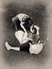 All you need... :) (Natalia Medd) Tags: allyouneedislove children girls chalk play friends childhood bw blackandwhite heart drawing mono monochrome street iphone kids