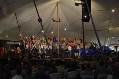 One mighty choir (radargeek) Tags: homesteadheritage waco tx texas choir tent