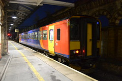 East Midlands Trains Super Sprinter 153376 (Will Swain) Tags: crewe station 17th october 2016 train trains rail railway railways transport travel uk britain vehicle vehicles country england english cheshire north west south county east midlands super sprinter 153376 class 153