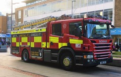Hertfordshire Fire And Rescue Service (999 Response) Tags: hemel hempstead en16ldo hertfordshire fire and rescue service 9754