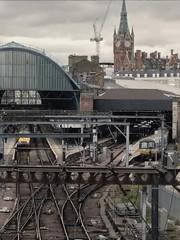London (Dan_DC) Tags: london england unitedkingdom stpancras kingscross rail railstations transportationhub greatnorthern train clocktower