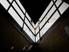 Look up (dolorix) Tags: dolorix architektur architecture kln cologne ubahn underground fenster window heumarkt