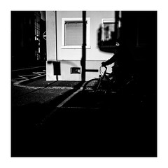 outofthedark (seba0815) Tags: ricohgrdiv grdiv monochrome darkphotography streetphotography street building urban walk contrast blackwhite blackandwhite blanco nero white schwarzweis blanc noir shadow mood seba0815 square winbdow