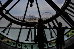 Looking at Paris from Orsay clock (benito.anon) Tags: paris clock nikon panoramica reloj sight orsay montmatre sagradocorazn orsaymuseum museodeorsay nikond5200