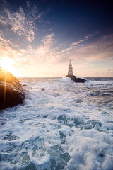 Ahtopol/Bulgaria (Vilian Raychev) Tags: light sea summer sky cloud lighthouse black nature water colors sunrise landscape waves minolta outdoor sony wave bulgaria filter lee nd gradient alpha 1735 a850 ahtopol km1735 dslra850 alphaforumnet
